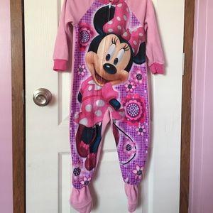 Minnie Mouse Footie PJ's